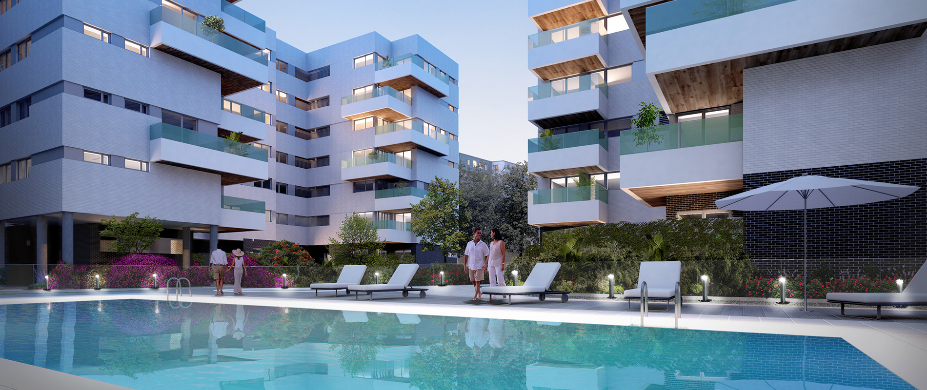 Residencial madrid 127 getafe for Piscina getafe